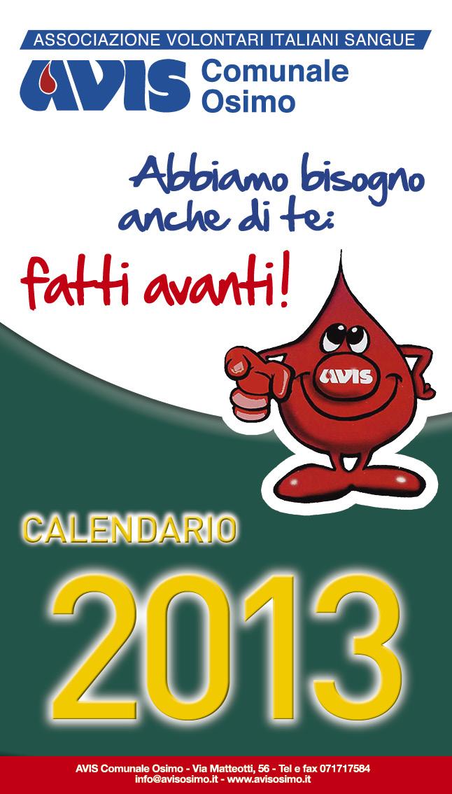 Calendario Avis.Calendario Avis Osimo 2013 Avisosimo It