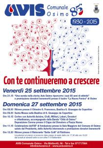 Manifesto 85° AVIS Osimo_03 disegno inciso