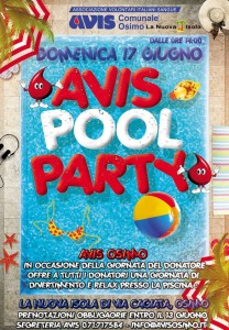 Locandina Avis Pool Party